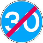End Of Minimum Speed Limit